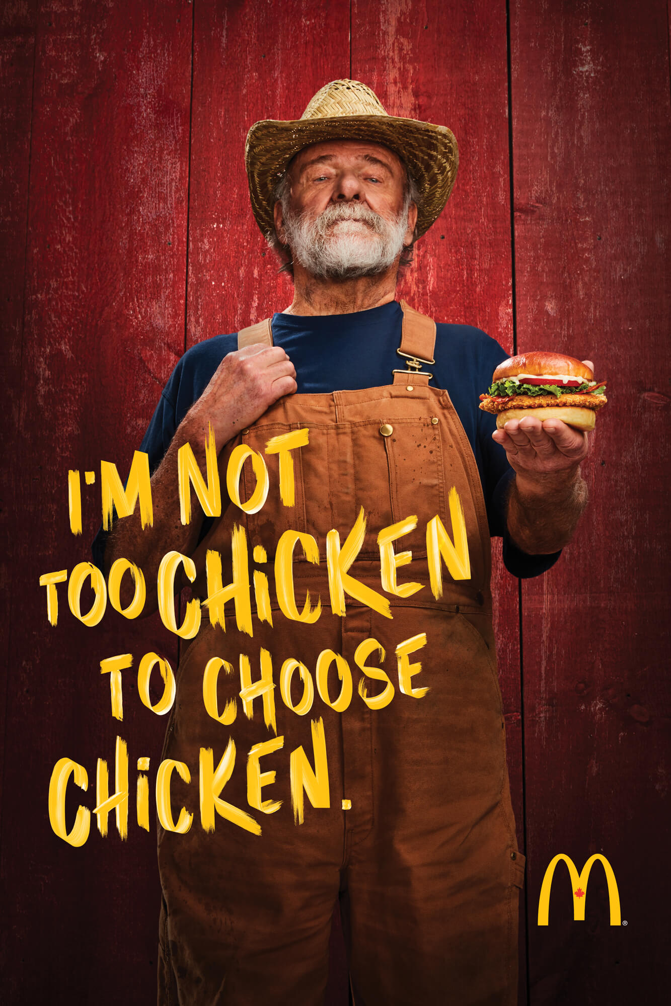 Unified Content, Unified Content Toronto, Aaron Cobb, McDonalds, Advertising, Portrait, Product, Chicken, Chicken Burger, Chicken People, Food, Product, Advertising