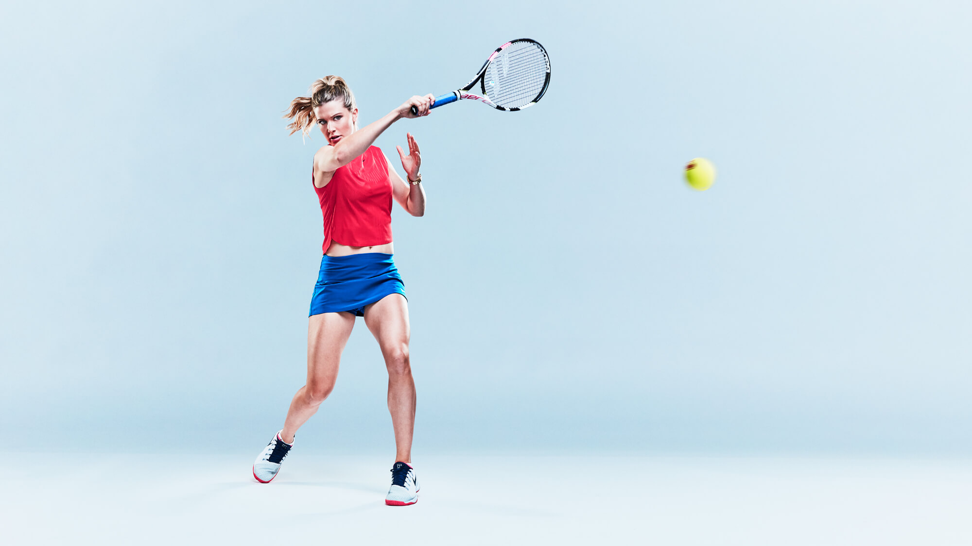 Unified Content, Unified Content Toronto, Aaron Cobb, Rogers, Sportsnet, Genie Bouchard, Portrait, Action Shot, Photography, Sports Photography, Athletes, Tennis, Athlete,