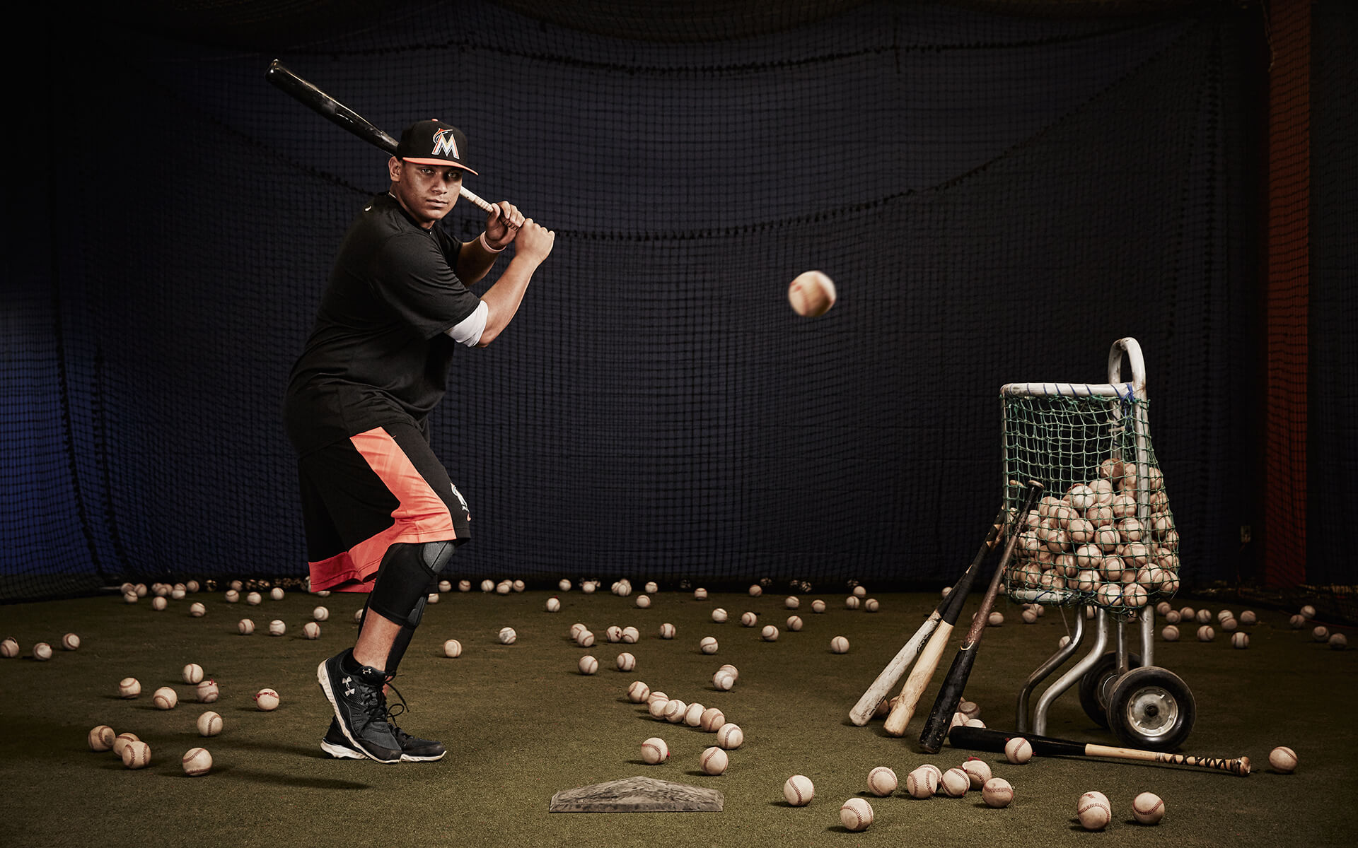 Unified Content, Unified Content Toronto, Aaron Cobb, Sportsnet, Josh Naylor, Athlete, Marlins, Marlins baseball, New Recruit, Athlete, Sports Photography, Baseball, Baseball player, MLB, Major League Baseball, action shot, action, sports photography