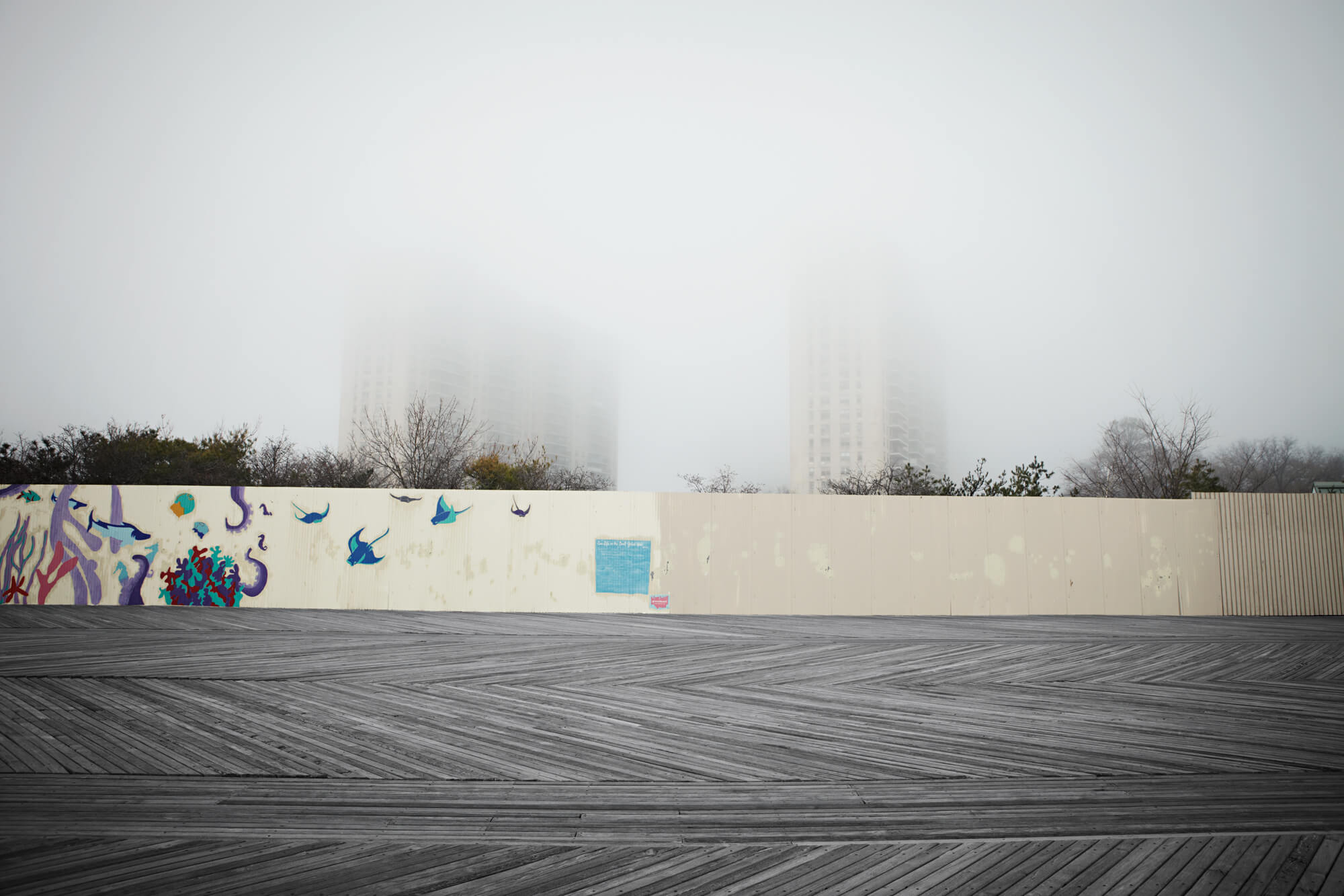 Unified Content, Unified Content Toronto, Aaron Cobb, Coney Island, Winter and Summer, Beach, Seasons, Desolate, busy, landscape, photography, advertising, Click to see full project details