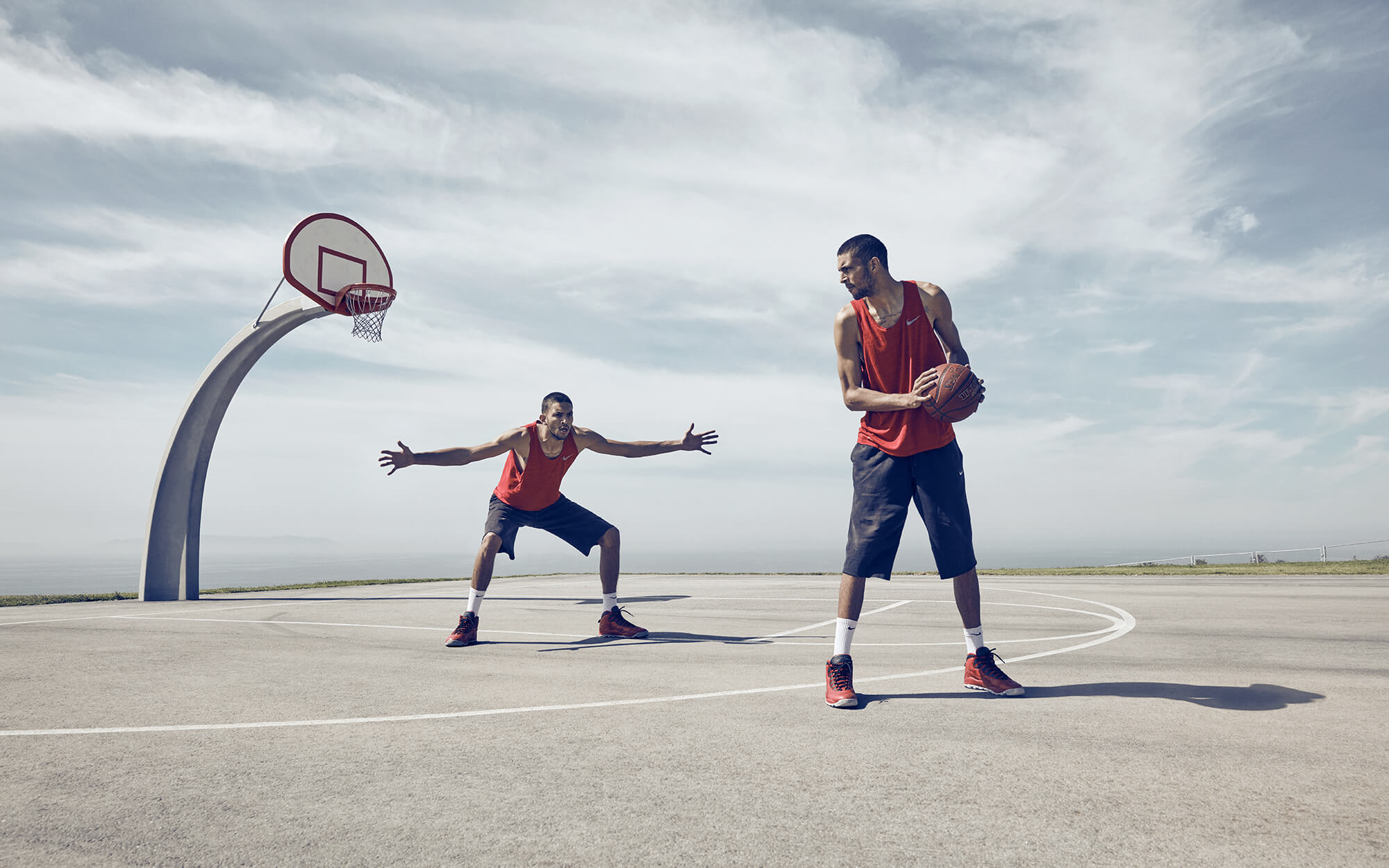Unified Content, Unified Content Toronto, Aaron Cobb, Basketball, Jules Montgomery, Professional Basketball Player, Outdoor court, slam dunk, athlete, action shot, athlete, professional athlete, dunk,