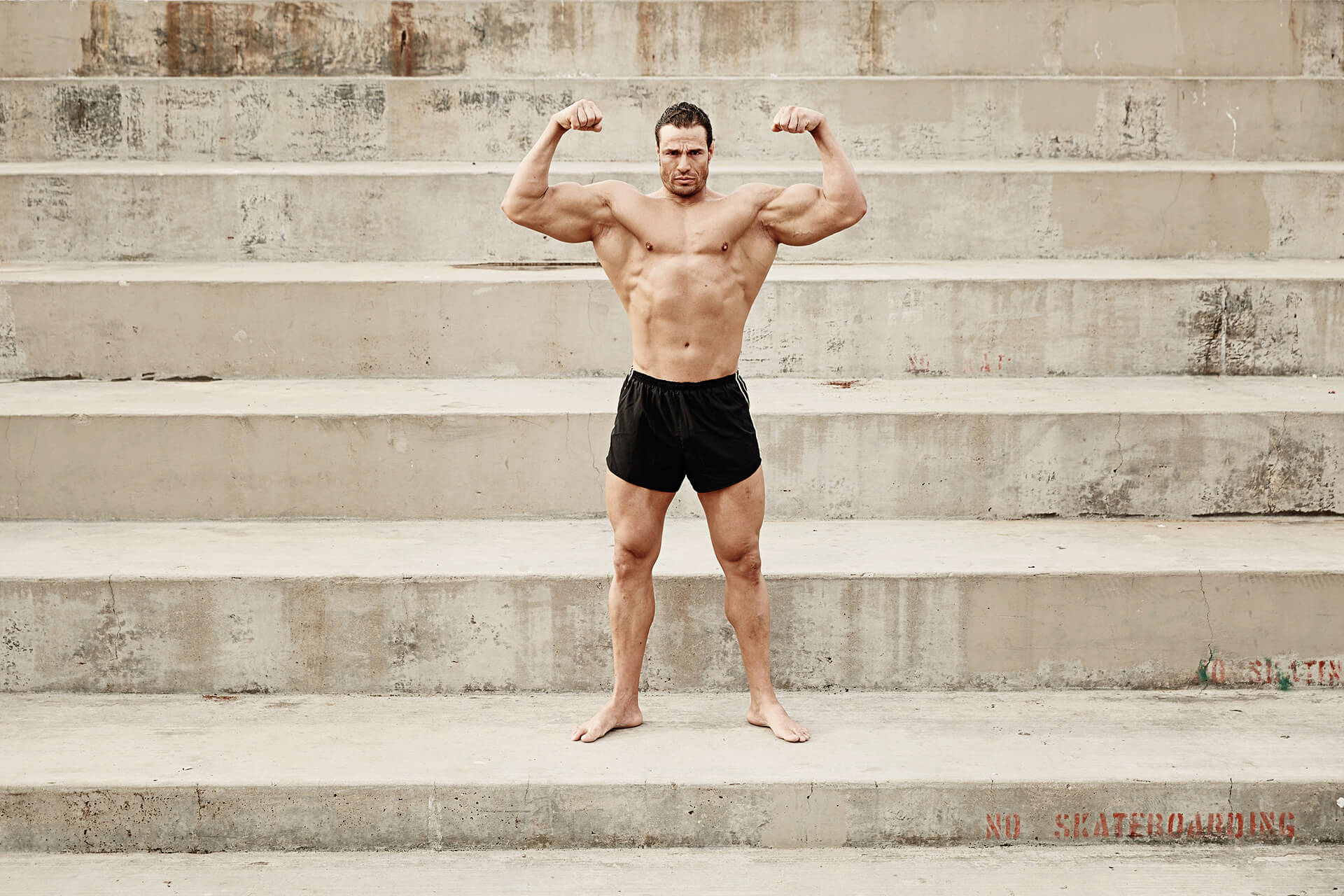 Unified Content, Unified Content Toronto, Aaron Cobb, Athletes, Body Builder, LA, Los Angeles, Muscle Beach, Beach, Workout, Fit, Body Builder, Ripped, Shredded,
