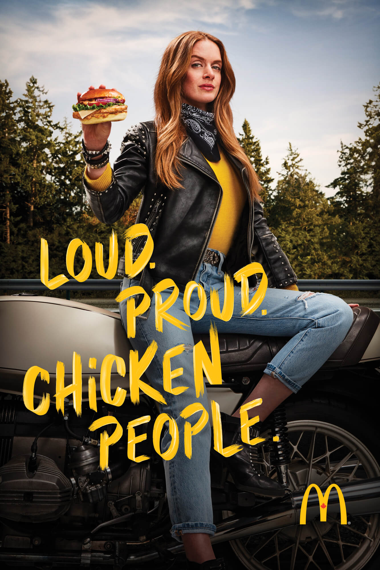 Unified Content, Unified Content Toronto, Aaron Cobb, McDonalds, Advertising, Portrait, Product, Chicken, Chicken Burger, Chicken People, Food, Product, Advertising