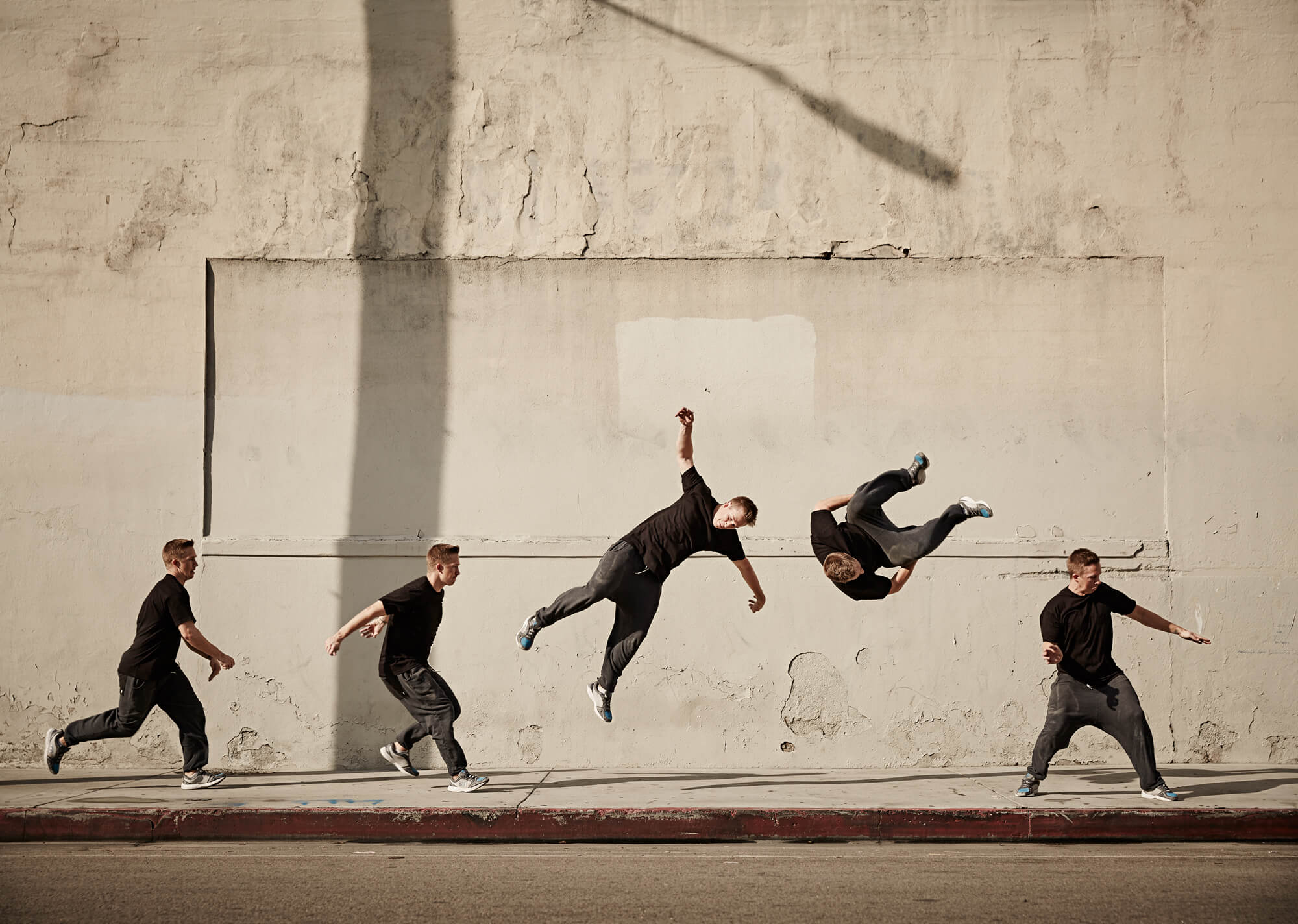 Unified Content, Unified Content Toronto, Aaron Cobb, Robbie Corbett, Parkour, Athlete, Action Shot, LA, Los Angeles, Athlete, Portrait, Sports Photography, Action Shot, Action Photography,