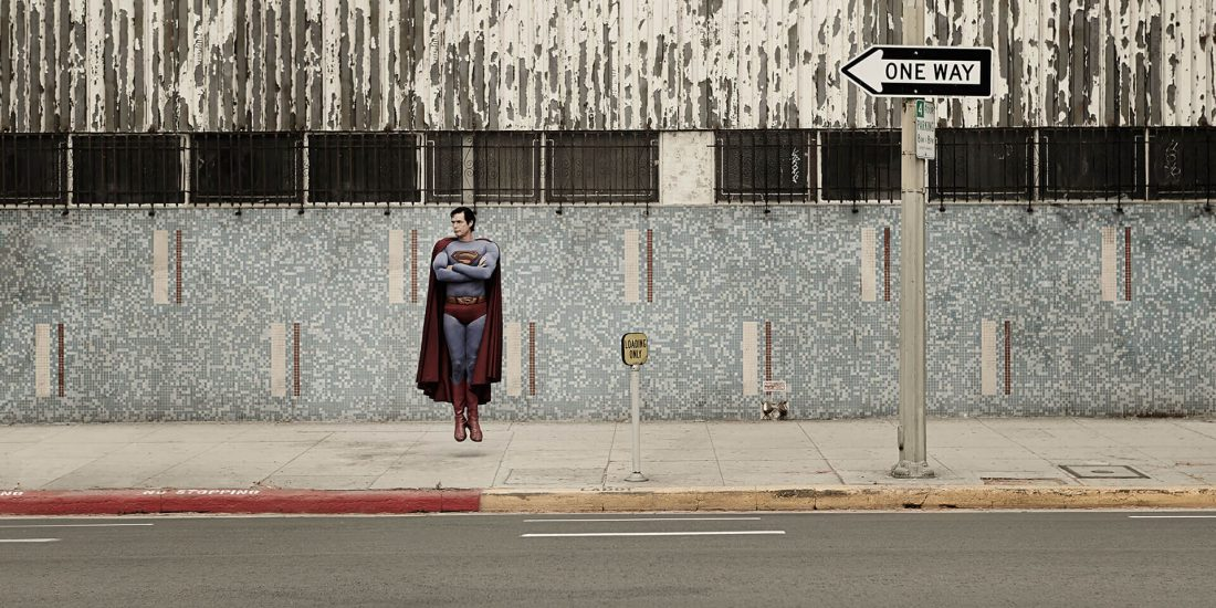 Unified Content, Unified Content Toronto, Aaron Cobb, Superman, superhero, portrait, artistic portrait, marvel, superhero, DC Comics, magic, batman vs. superman, flying, superhero photography, action shot, portrait,