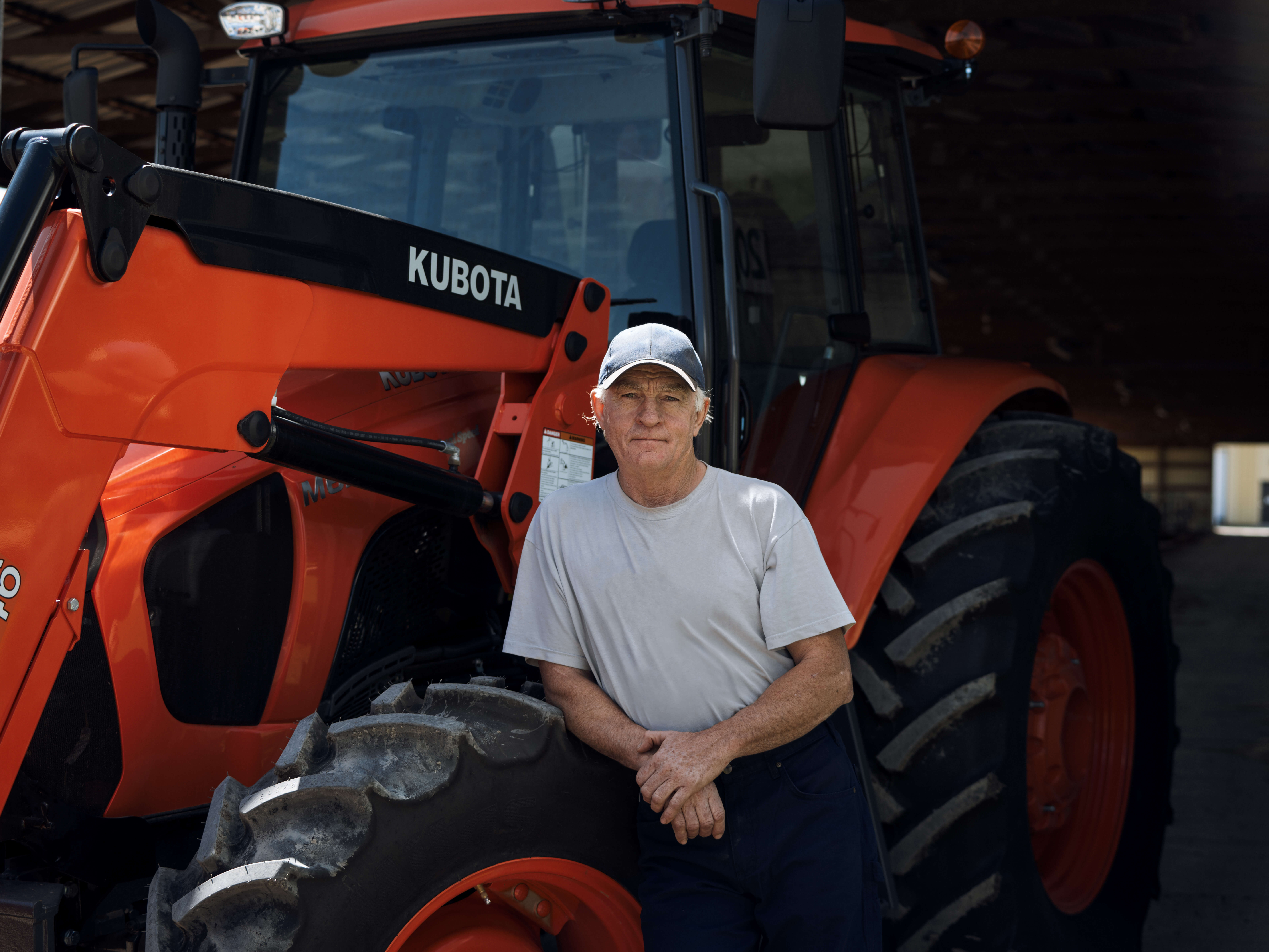 Unified Content Toronto, Unified Content, Max Rosenstein, Kubota, Tractor, Kubota Tractors, tractor and heavy equipment manufacturer, Kubota Product, Automobile, Automobile photography, product photography, farmers, real people, real farmers, farm ontario, ontario farming, summer